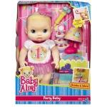 พร้อมส่งของเล่นเด็กตุ๊กตา party baby alive ของแท้ ส่งพัสดุไปรษณีย์ฟรี