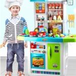 โต๊ะครัวจัมโบ้ my little chef พร้อมส่งสีฟ้าเท่านั้น ส่งฟรี