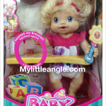 ตุ๊กตา Baby live หนูดื่มน้ำได้จริง เตะขาได้ค่ะ ส่งฟรี EMS