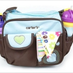 Carter's กระเป๋าสัมภาระคุณแม่ กระเป๋าใส่ขวดนม สีฟ้า