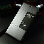 สมาร์ทเคส Huawei P9 Plus โชว์โลโก้ Leica สีเทาน้ำเงิน