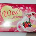 Wow Collagen 15,000 มิลิกรัม มี แบบ 5 ซอง ( กลิ่นฟรุตตี้พันซ์ )