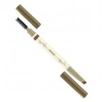 ดินสอเขียนคิ้ว Celeb Dual 3D Eyebrow Waterproof คิ้วสวยแบบสามมิติ สองสีโทนน้ำตาลในแท่งเดียว