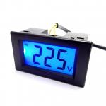 AC Digital Voltmeter 80-500V LCD with Blue Back-light