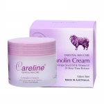 Careline Lanolin Cream With Grape Seed Oil + Vitamin E 100ml .