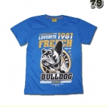 เสื้อยืดชาย Lovebite Size L - Lovebite 1981 French Bulldog