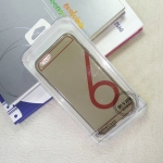 เคส iPhone6 Tpu นิ่ม สีเทาใส