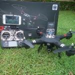WL-Q303B FPV wi-fi Drone+กิมบอล+ระบบล็อคความสูง+ปรับหน้ากล้องอัตโนมัติ