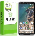 ฟิล์ม Google Pixel 2 XL [2-Pack], IQ Shield LiQuidSkin Full Coverage Screen Protector