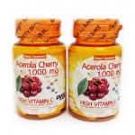 Acerola Cherry 1000 mg 45 เม็ด วิตามินซีธรรมชาติ