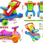รถผลักเดิน + รถขาไถ + ของเล่น Multi-Functional Education Walker