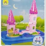 พร้อมส่ง โต๊ะทรายเลโก้ 2 in 1 Princess Castle ส่งฟรี