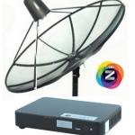 จานดาวเทียม GMMZ HD SLIM C-BAND ราคาพร้อมติดตั้ง