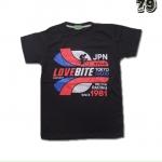 เสื้อยืดชาย Lovebite Size S - JPN 1981