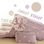 ที่นอนสุนัขสีหวาน Sweet Viloet (พร้อมส่ง)