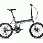 "TRINX : FLYBIRD 2.0 จักรยานพับ 20""(451) อลูฯ 24 Speeds ดิสเบรค ดุมNOVATEC"