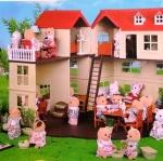 โมเดลบ้านตุ๊กตา, ปราสาท, ร้านขายของน่ารักแบบเยอะ