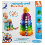 multicolored stack cup (6M+)