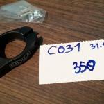 VINCITA : C031 รัดหลักอานพร้อมรูยึดตะแกรง 31.8 มม.
