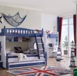 เตียง2ชั้น รุ่น Marine bunk bed