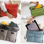 กระเป๋าถือ ใส่Tablet Ipad และสิ่งของต่างๆ ซอฟท์เคสนุ่มๆ กันรอย กันกระแทก ใส่ได้สารพัด