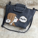 กระเป๋าหนัง FASHION หนังสวย ขนาดฐาน 9 นิ้ว