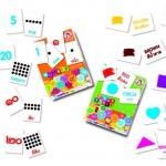 Flash Card รุ่น Color & Shape แนวสอนแบบชิจิดะ และ คุมอง