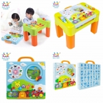 Huile Toys โต๊ะกิจกรรม 6in1 (Intellectual Interactive Table)
