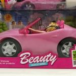 พร้อมส่ง รถตุ๊กตาบาร์บี้ Beauty Vehicle Playset ส่งฟรี