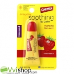 Carmex Everyday Soothing Lip Balm Strawberry Tube SPF 15 10 g