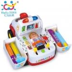 Huile Toys รถพยาบาล Ambulance Car - White