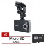 กล้องติดรถยนต์ HDMI Portable FULL HD1080 รุ่น K6000 - สีดำ พร้อมเมม