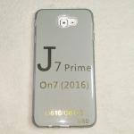 เคส Galaxy J7 Prime Tpu สีเทาใส