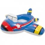 Intex Kiddie Floats ห่วงยางสอดขาว่ายน้ำสำหรับเด็ก ลายเครื่องบินสีน้ำเงิน