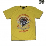 เสื้อยืดชาย Lovebite Size XXL - Racing Motorcycle 1981