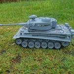 รถถังบังคับ German Tiger Scale 1/18+ควัน+ยิงกระสุน รถถังบังคับ