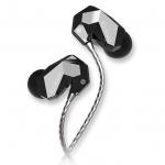 ขาย หูฟัง TTPOD T2E หูฟัง3 Driver (2BA 1Dynamic) สายชุบเงิน รุ่นเบสหนัก - สีดำทึบ