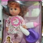 ตุ๊กตาเด็กน้อยดูดนม และน้ำ ของเล่นเด็กผู้หญิงที่ขายดีตลอดกาล