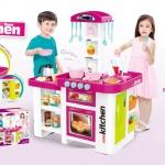 ชุดครัวของเล่นเด็กใหญ่ ๆ Multi functional kitchen play set
