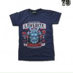 เสื้อยืดชาย Lovebite Size S - Kumamoto 1981