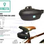 VINCITA : B049 กระเป๋าใต้อาน รุ่นอีวา ขนาดใหญ่ (ดำ)
