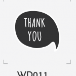 ตราปั๊มงานแต่ง WD011