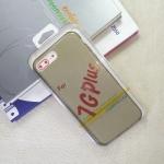 เคส iPhone7G Tpu นิ่ม สีเทาใส