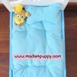เตียงนอนน้องหมาน่ารักๆ สีฟ้า พร้อมส่ง