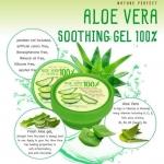 aloe vera soothing gel 100% เจลอโลเวร่าช่วยบำรุงผิว