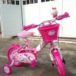 จักรยานเด็ก ยี่ห้อ LA ลายลิขสิทธิ์ Hello Kitty ลายคิตตี้ขอคละลายนะค่ะ *** จัดส่งฟรีขนส่งเอกชนใช้เวลาประมาณ 2-5 วันคะ