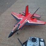 F-35b lightning เครื่องบินบังคับความเร็วสูง