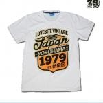 เสื้อยืดชาย Lovebite Size XL - Japan Yokohama 1979