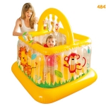 Baby soft side บ้านบอลยิมหนูน้อยเบบี้ Intex-48473