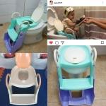 potty trainer รุ่นน้องเป่าเปา (ที่นั่งรองชักโครกพร้อม+กระโถน)